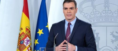 Presidente de España Pedro Sánchez