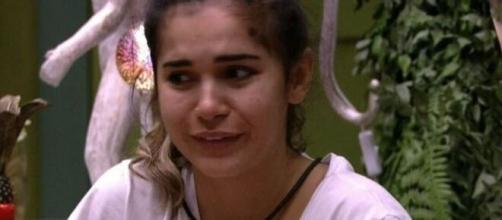 Após a prova do anjo, a advogada foi chamada ao confessionário e advertida pela produção do reality. (Reprodução/TV Globo)