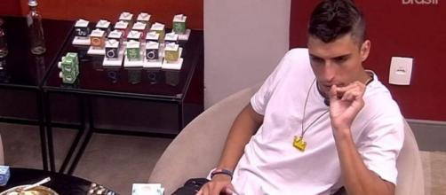 BBB 20: Felipe Prior analisa a estratégia dos concorrentes. ( Reprodução/TV Globo )