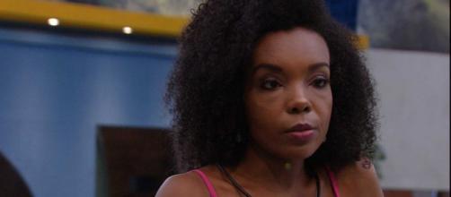 'BBB20': Thelma diz não guardar rancor de Marcela. (Reprodução/TV Globo)