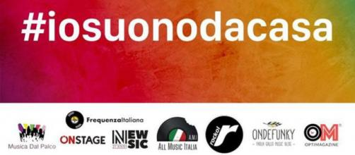 #IOSUONODACASA: l'iniziativa musicale che coinvolge tutti gli artisti e i loro concerti live via social per fronteggiare l'emergenza covid-19
