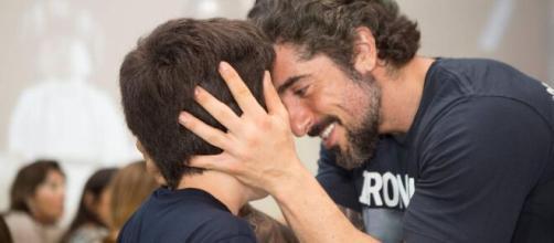 Marcos Mion sempre faz questão de mostrar o amor que sente pelo filho. (Arquivo Blasting News)