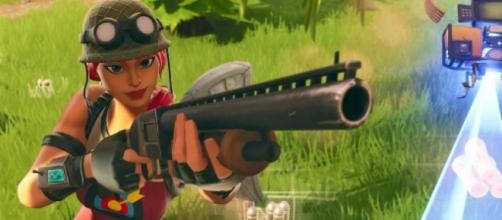 "Pump Shotgun has been changed in ""Fortnite."" [Image Credit: In-game screenshot]"