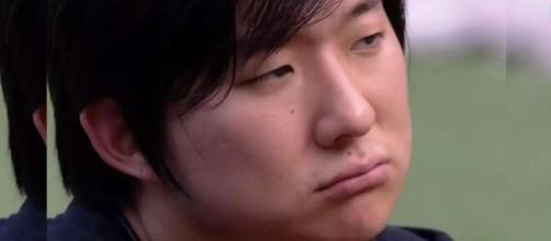 Pyong disse preferir sair agora caso a popularidade de seus adversários esteja alta, ao invés de ficar até o final. (Reprodução/ TV Globo).