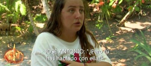 Supervivientes 2020/ Un comentario de Jordi González descoloca a Rocío Flores