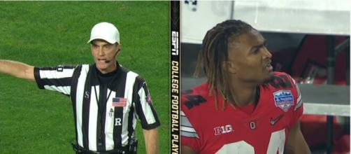 The Buckeyes are still feeling Fiesta Defeat pain, action on refs still on the cards. [Image Source: ESPN/YouTube]