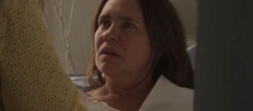 Thelma terá uma crise após saber que comprou Domênico em 'Amor de Mãe'. (Reprodução/TV Globo)