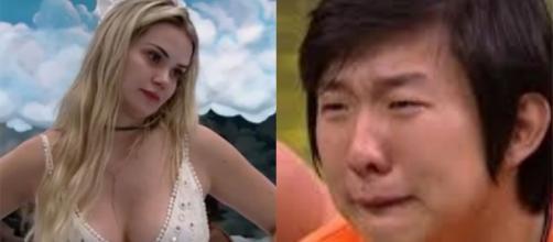 """""""BBB20"""": Pyong Lee é eliminado e Marcela questiona se coronavírus é mesmo real. (Arquivo Blasting News)"""