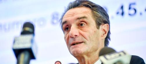 Il presidente della Regione Lombardia Attilio Fontana fa il punto sulla situazione Coronavirus. - Credit: iltempo.it