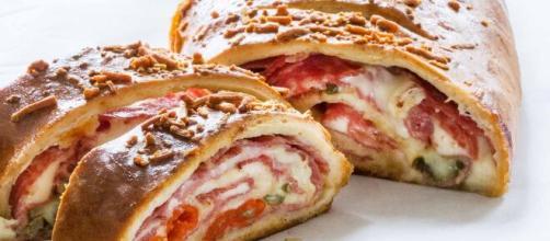 La pizza Stromboli è una variante della classica pizza