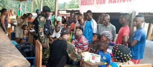 L'armée camerounaise dans son rôle civilo-militaire (c) Dj Bilik