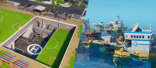 "Latest ""Fortnite"" update brings map changes. [Image Credit: In-game screenshot]"