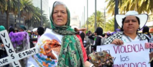 México padece actualmente altos niveles de criminalidad en contra de la mujer. - andina.pe