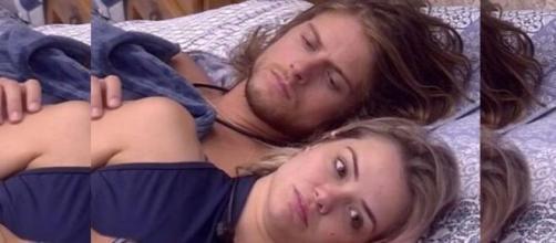 """O brother preferiu """"ficar"""" com ele mesmo do que com Marcela, sua namorada. (Reprodução/TV Globo)"""