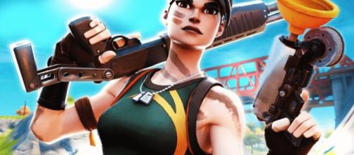 The Grappler has been nerfed in 'Fortnite.' [Image Source: C9 Keeoh/YouTube]