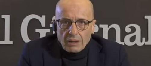 Alessandro Sallusti protagonista di un duro editoriale.