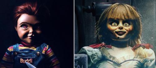 Annabelle llega a casa o al juego de niños: una saga de muñecas terrorífica.