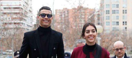 Cristiano Ronaldo e Georgina Rodriguez.