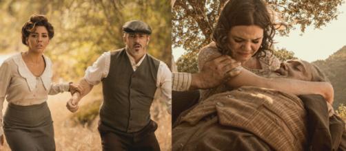 Il Segreto, trame al 28 marzo: Emilia e Alfonso tornano in paese, Fernando uccide Paco