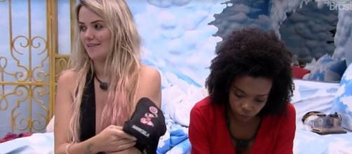 Marcela ficou abalada com saída de Pyong do 'BBB20'. (Reprodução/TV Globo)
