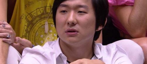 Mesmo com sua eliminação, brothers ainda acreditam em Paredão falso de Pyong. (Reprodução/TV Globo)