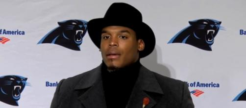 Newton led the Panthers to a Super Bowl stint in 2016 (Image Credit: Carolina Panthers/YouTube)