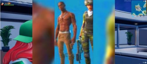 There were claims that the image came from a 'Fortnite' blogger in China. [Image Source: Merl/YouTube]