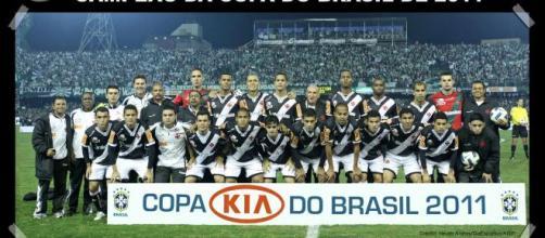 Vasco da Gama campeão da Copa do Brasil de 2011. (Arquivo Blasting News)