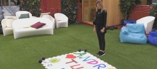 Adriana Volpe lascia la casa del GF Vip