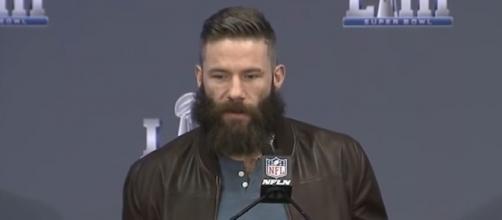 Edelman was Brady's top receiver last season (Image Credit: New England Patriots/YouTube)