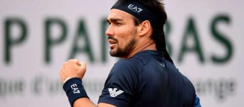 Fabio Fognini, tra i suoi sogni c'è quello di sfidare Federer in finale al Roland Garros.