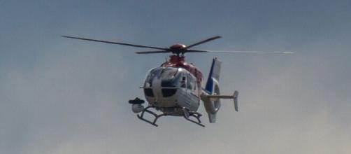 Helicóptero de la Ertzaintza / Cuenta Twitter Ertzaintza