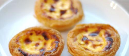 I pastéis de nata: dolcetti tipici del Portogallo.