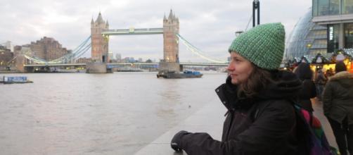 Larissa contou como tem lidado com o coronavírus em Londres. (Arquivo pessoal)