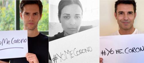 Marc Clotet, Paula Echevarría y Jesús Vázquez se suman a la iniciativa #YoMeCorono (INSTAGRAM)