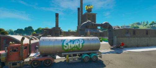 "Slurp trucks have been nerfed in ""Fortnite."" [Image Credit: In-game screenshot]"