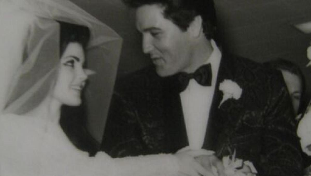 Elvis Presley Las Vegas Wedding To Priscilla Presley Was A Lot Cheaper Than Believed