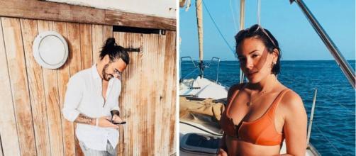 Agathe Auproux drague Benjamin Samat sur les réseaux sociaux. Credit: Instagram/benji_samat/agatheauproux