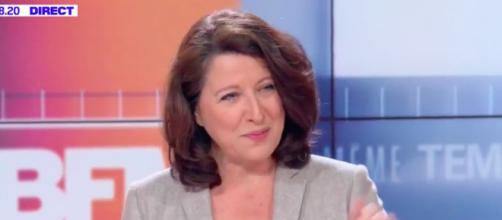 Coronavirus : Agnès Buzyn déclare qu'il serait bien de se 'taper le coude ou le pied' pour se dire bonjour. Credit: Capture BFM TV