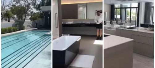 JLC Family : Laurent révèle leur possible future villa de luxe. Credit : Snapchat/JLCfamily
