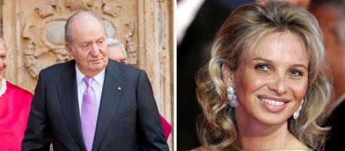 Juan Carlos de Borbon y su ex amiga la hermosa aristócrata Corinna, otra vez en la mirada de la prensa