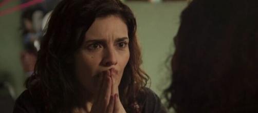 Leila é detestada pelo público de Amor de Mãe por suas atitudes maldosas e sem noção. (Reprodução/TV Globo)