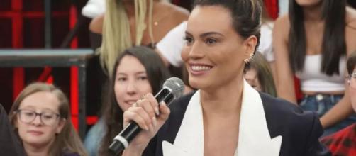 Letícia Lima participa do 'Altas Horas' e revela detalhes de 'Amor de Mãe'. (Reprodução/TV Globo)