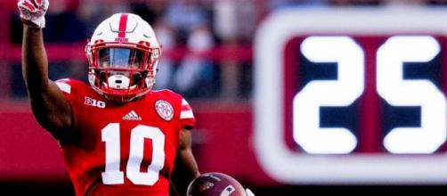 Nebraska is losing a receiver, but for how long? [Image via JustBombProductions/YouTube]