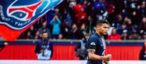 PSG : Thiago Silva ne sera pas au match contre Dortmund mais cela pour être une bonne nouvelle. Credit: Instagram/thiagosilva