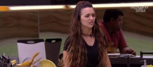 'BBB20': Rafa mostrou-se com muitas dores após ser eliminada. (Reprodução/TV Globo)