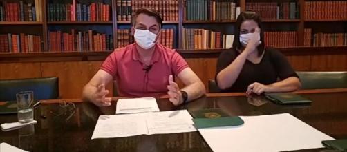 Bolsonaro fala sobre as últimas medidas para combater o coronavírus | Imagem: Reprodução/Facebook
