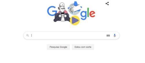 Google usa Ignaz Semmelweis para conscientizar sobre lavar as mãos durante a pandemia. (Reprodução)