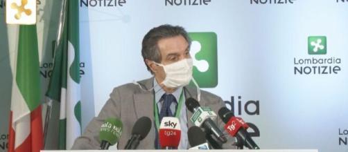 Il presidente Fontana in conferenza stampa: '114 militari non bastano, bisogna aggiungere uno zero'.