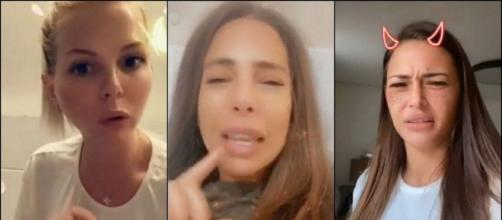 Jessica Thivenin, Illan et Toto défendent Kim Glow, Alix est choquée et l'insulte. ®Snapchat